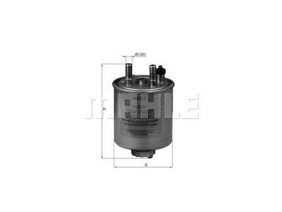 Filter goriva 103587 - Renault