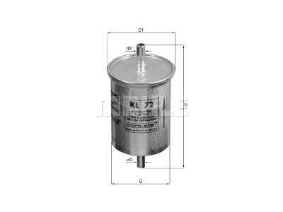 Filter goriva 103593 - Fiat, Peugeot, Renault
