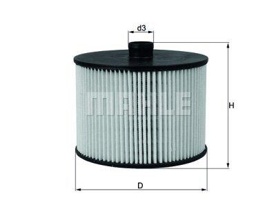 Filter goriva 103665 - Citroen, Fiat, Ford