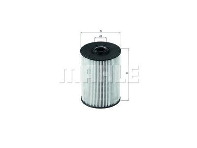 Filter goriva 103669 - Citroen, Peugeot