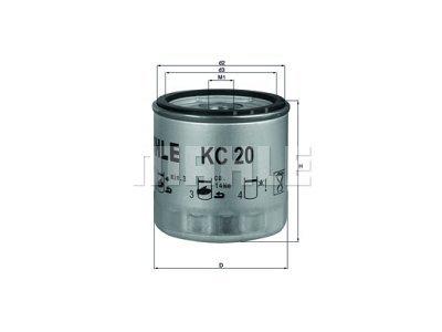 Filter goriva 167153 - Ford
