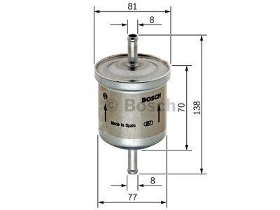 Filter goriva BS0450905324 - Ford Street Ka 03-05