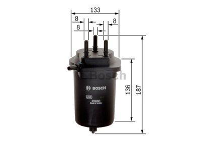 Filter goriva BS0450907012 - Renault Megane 02-08