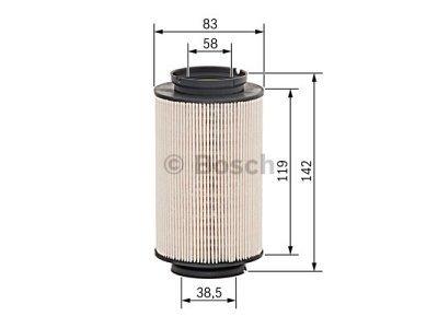 Filter goriva BS1457070007 Audi A3 03-12