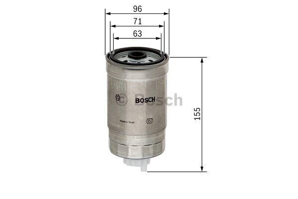 Filter goriva BS1457434439 - Nissan, Ford