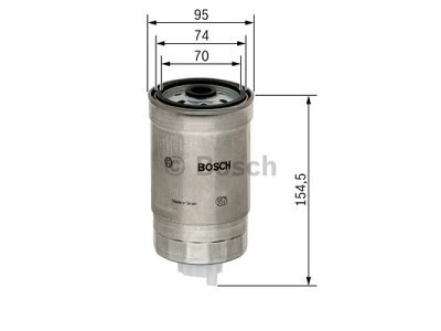 Filter goriva BS1457434451 - Nissan Almera 00-07