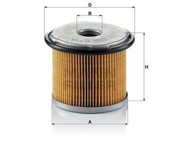 Filter goriva FT5263 - Citroen, Peugeot, Fiat