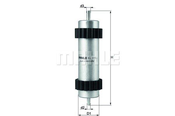 Filter goriva KL915 - Audi A7 10-