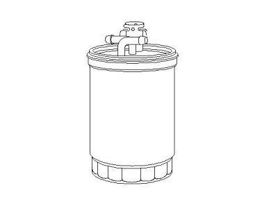 Filter goriva TQ-F283 - Volkswagen Caddy 95-04