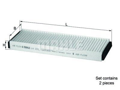 Filter kabine 263717 - Audi A6 04-11
