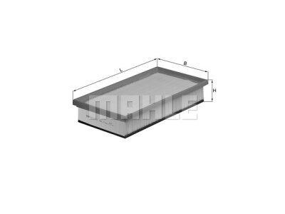 Filter Luft  105143 - Alfa