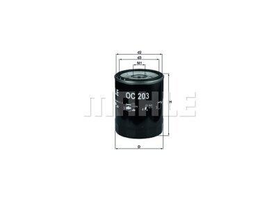 Filter olja 111048 - Ford