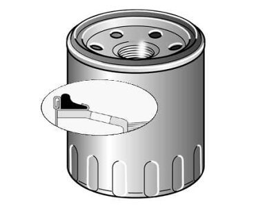 Filter olja BSF026407130 - Chevrolet Aveo 06-