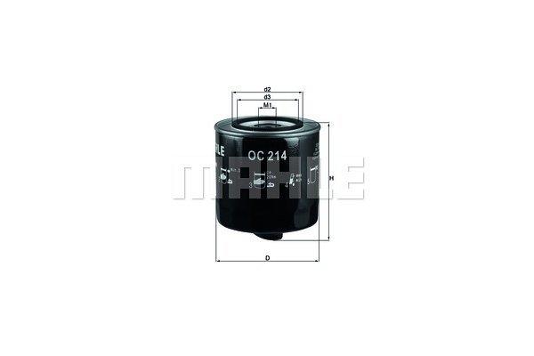 Filter ulja 111053 - Audi, Volkswagen, Volvo