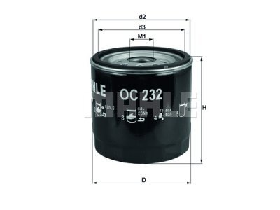 Filter ulja 111064 - Ford