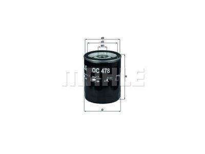 Filter ulja 111139 - Toyota