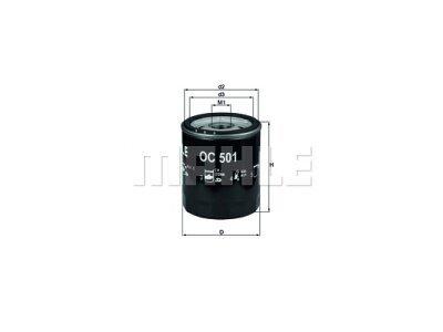 Filter ulja 111147 - Alfa