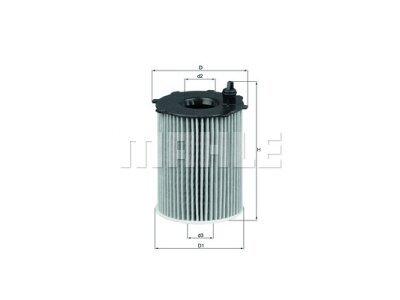Filter ulja 111547 - Citroen, Peugeot