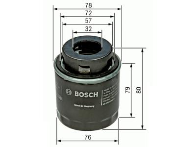 Filter ulja BSF026407079 - Audi, Seat, Škoda, Volkswagen