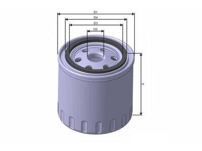 Filter ulja FT6151 - Citroen Jumper 06-14