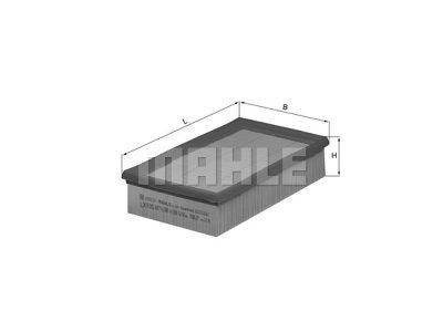 Filter vazduha 105160 - BMW