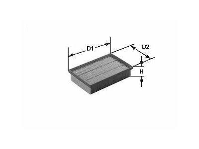 Filter vazduha 105584 - Volvo