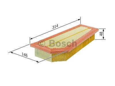 Filter vazduha BSF026400134 - Mercedes-Benz