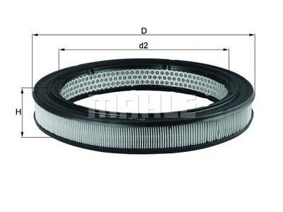 Filter zraka 105392 - BMW