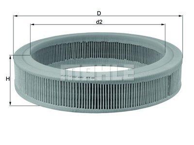 Filter zraka 105458 - Ford