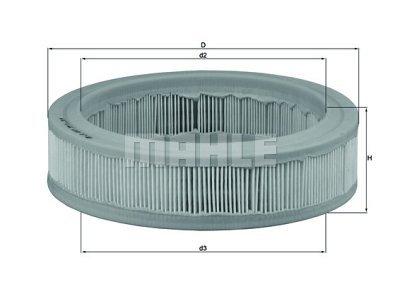 Filter zraka 105528 - Renault