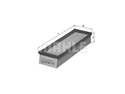 Filter zraka 105570 - Renault