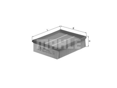 Filter zraka 105585 - Renault