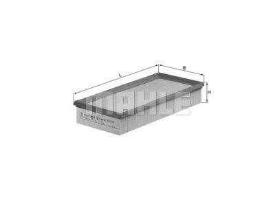 Filter zraka 105592 - Citroen, Peugeot