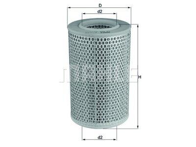 Filter zraka 105615 - Iveco