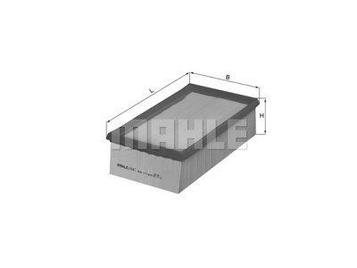 Filter zraka 105815 - Renault