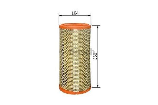 Filter zraka BS1457433332 - Iveco Daily 06-14
