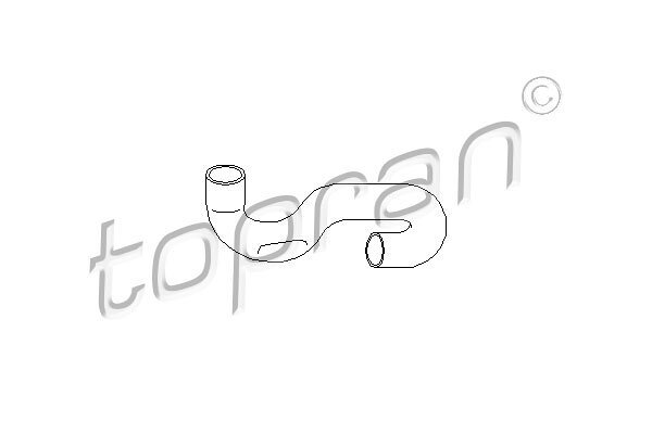 Fleksibilna cev hladnjaka vode Opel Tigra 94-00 1.4 / 1.6 16V