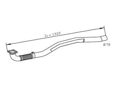 Fleksibilna cev Iveco Eurocargo 91-15
