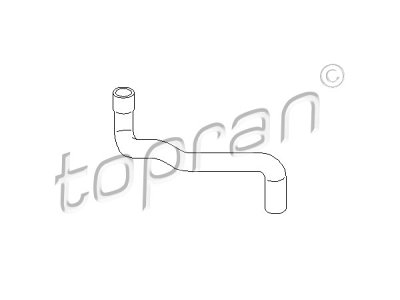 Fleksibilna cev za hladnjak vode 109 010 755 - Seat Toledo 91-99 1.6 i