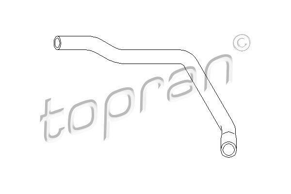 Fleksibilna cijev hladnjaka grijanja 103 538 586 - Volkswagen Golf (II) 84-91