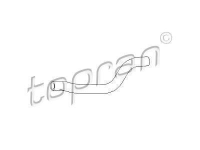 Fleksibilna cijev hladnjaka grijanja 124015 - Volkswagen Golf (II) 84-91