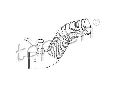 Fleksibilna cijev hladnjaka zraka Audi, Seat, Škoda, Volkswagen