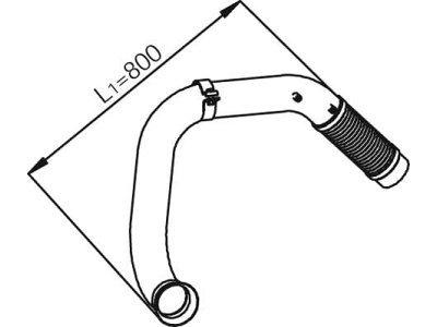 Fleksibilna cijev Mercedes-Benz Atego 97-