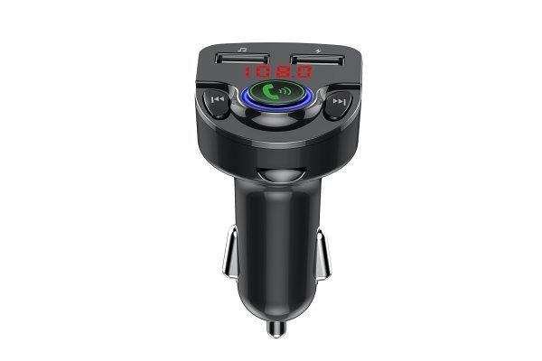 FM oddajnik in USB polnilec G32, 2 USB, Bluetooth 5.0, MP3/WMA, AUX