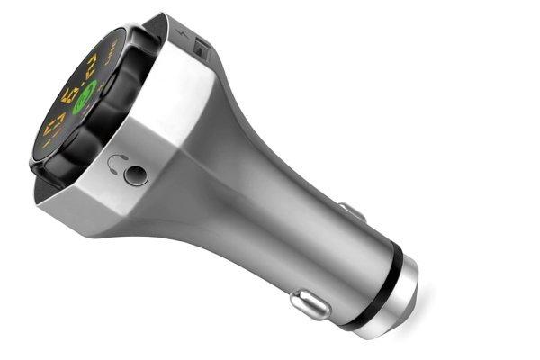 FM oddajnik ter USB polnilec, Bluetooth v4.2 + EDR, AUX, MP3