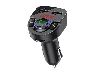 FM predajnik i USB punjač  G32, 2 USB, Bluetooth 5.0, MP3/WMA, AUX