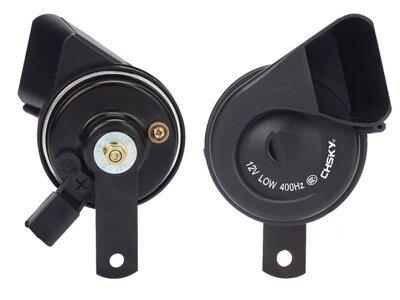 Gehäuse auto sirene 2x(6,3-0,8)
