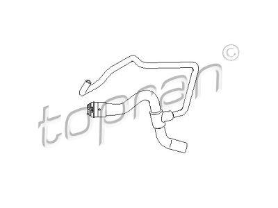 Gibka cev hladilnika gretja Opel Astra 98-04 1.4 / 1.6 16V