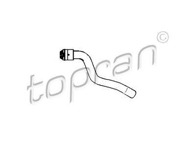 Gibka cev hladilnika gretja Opel Zafira 05- 1.6