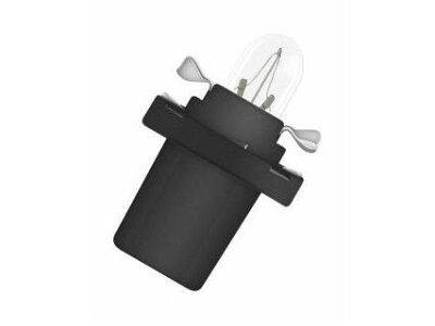 Glühbirne (schwarzes Gehäuse) 1W Bx8,5d 10 Stück
